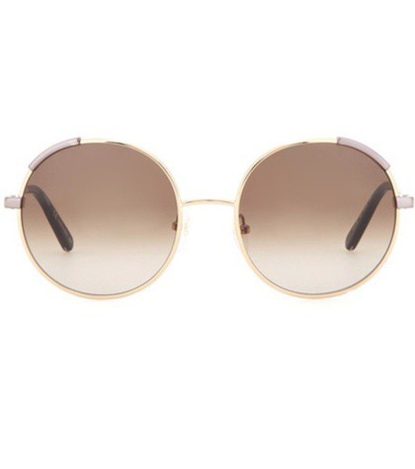 4293cf54c93 Chloé Chloé - Milla Square-frame Gold-tone Sunglasses - one size ...