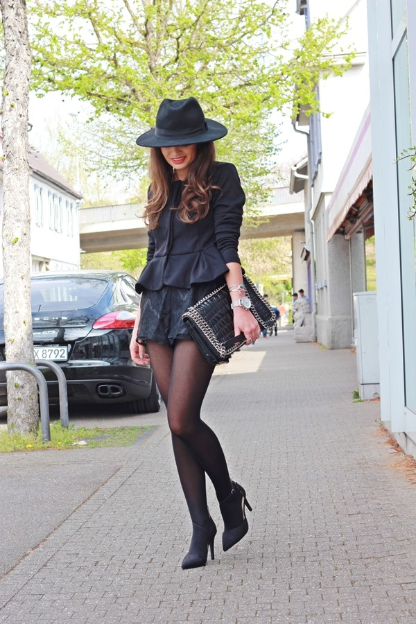 fashionhippieloves jacket shorts hat bag shoes jewels