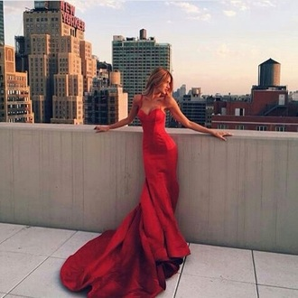 dress red prom dress prom red dress prom gown spagetti staps dresses spagetti straps style love inlovewithit