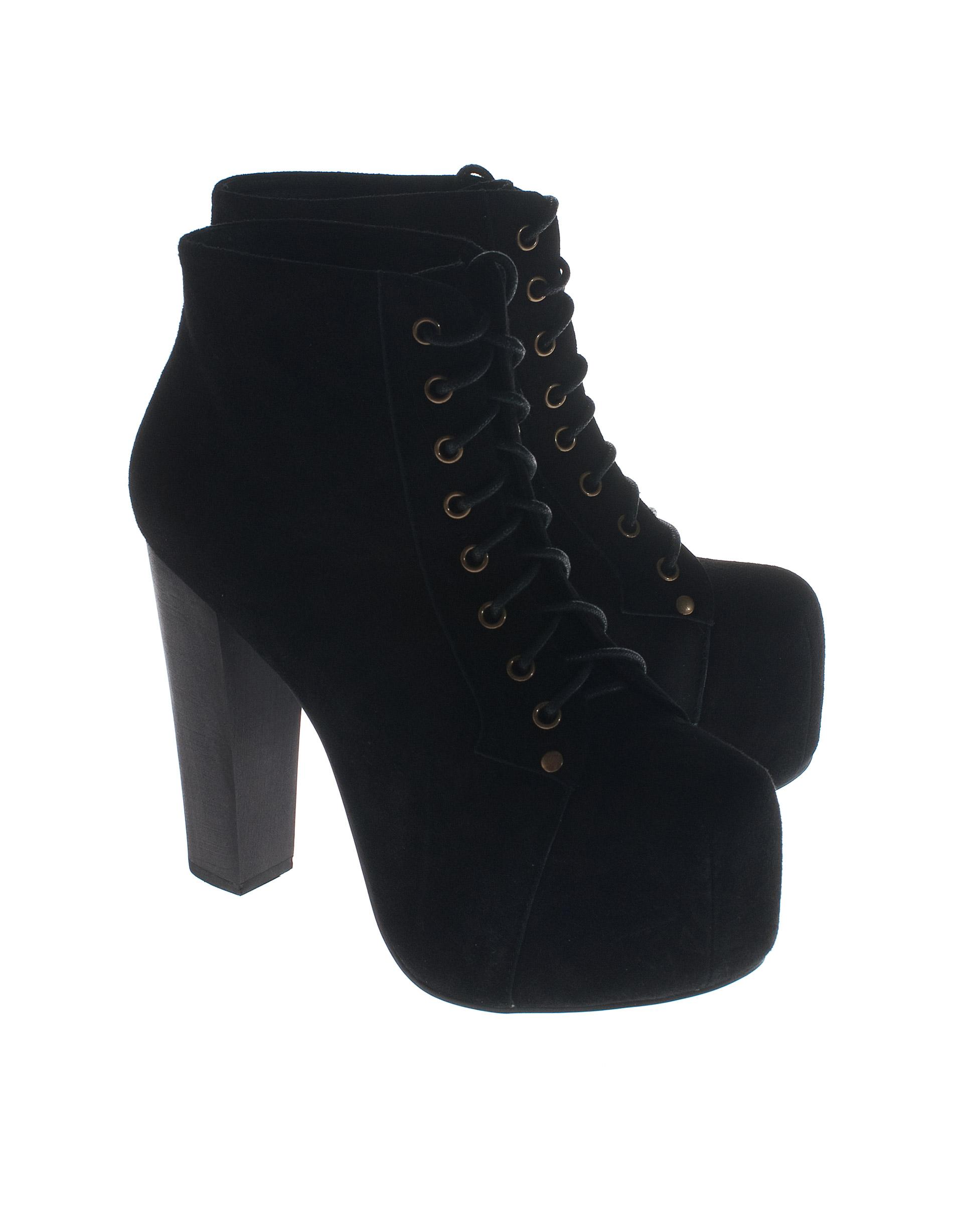 jeffrey cbell lita black suede suede leather platform