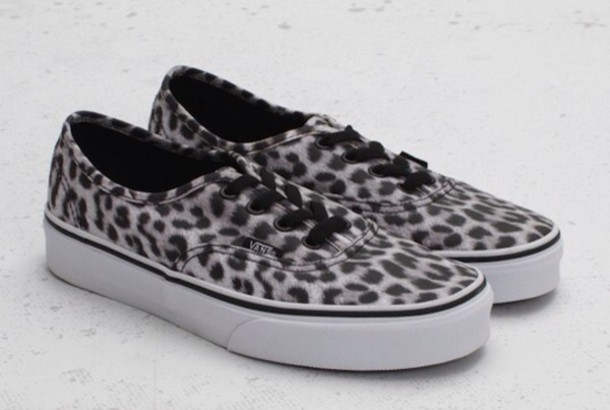 shoes, vans, vans, leopard print, sneakers - wheretoget
