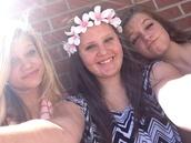 hair accessory,flower crown,flowers in hair,floral,cute,pink