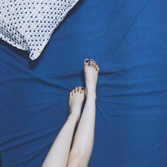 home accessory blue pillow