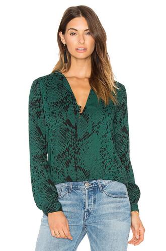 top print green