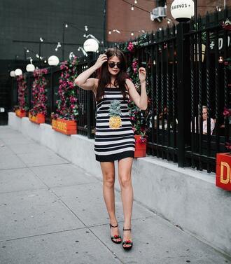 shoes sunglasses tumblr sandals sandal heels high heel sandals platform sandals dress mini dress stripes striped dress