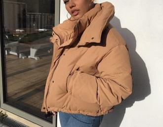 jacket puffer jacket coat