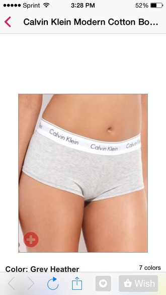 underwear calvin klein underwear white grey