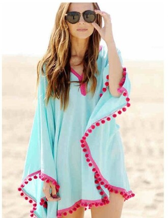 swimwear girly girl girly wishlist cover up dress chiclook closet caftan beach caftan