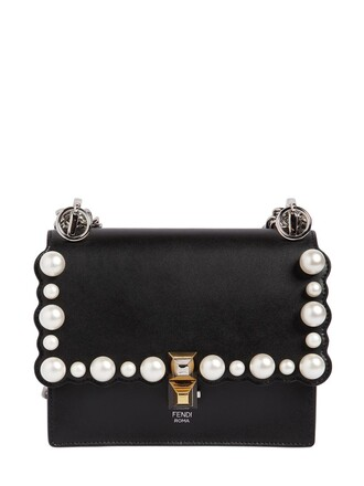 embellished bag scalloped embellished bag black