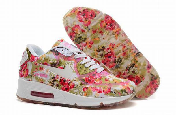 shoes nike air max 90 floral nike air max 90 floral rose