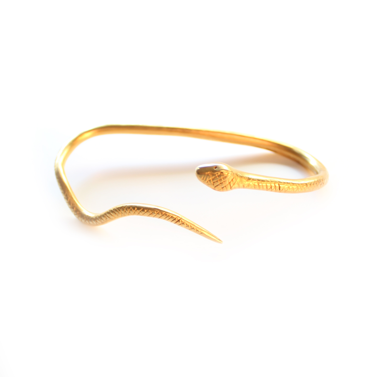 Gold snake hand wrap from meg biram shop on storenvy