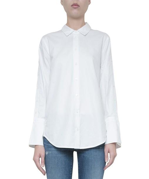 Equipment shirt cotton top