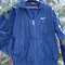 Rad nike 90s windbreaker dark navy blue vintage minimalist nike jacket medium spring time
