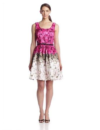 Amazon.com: julian taylor women's sleeveless floral fit