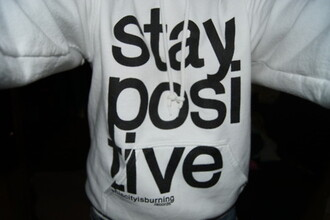 hoodie sweater staypositive thiscityisburning