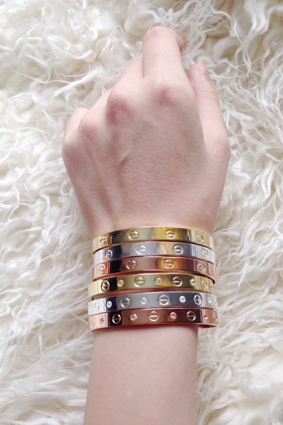 gold screw bar wanderlust and products bracelet co wanderlustandco bangles bangle