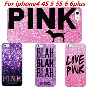 purchase cheap 4bb38 9b5c9 New Fashion Victoria/' s Secret Love Pink Brand Accessories Cover Phone  Cases Cover For Iphone4 4S 5 5S 6 6plus free shipping-in Phone Bags & Cases  ...