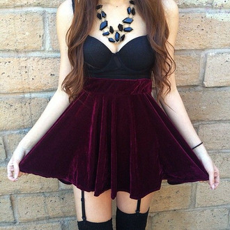 top bra crop beautiful adorable 2014 2015 crop tops where did u get that where to get this bra? where can i find this dress? wheretofindit velvet velvet skirt red velvet