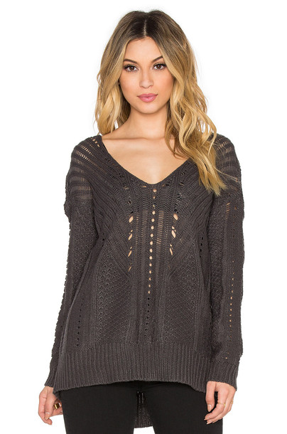 Heartloom sweater charcoal