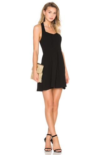 dress halter dress black