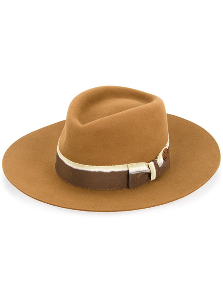 bow hat brown