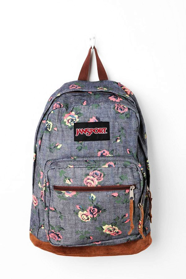 Bag: backpack, floral, school bag, cute, flowers, jansport ...