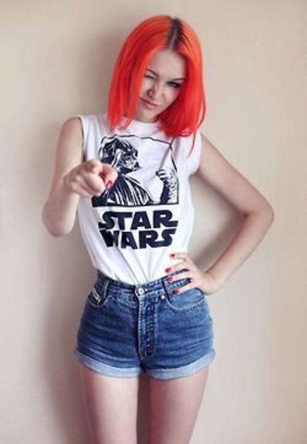 t-shirt star wars grunge classic vintage