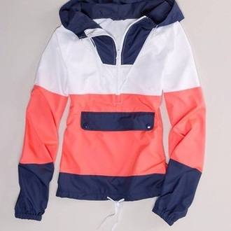 raincoat preppy college jacket