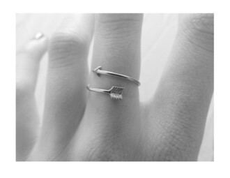 jewels ring arrow silver