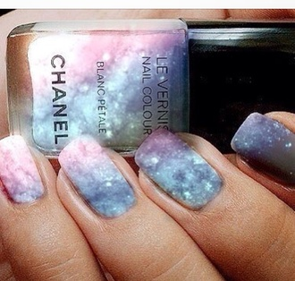 nail polish nail art chanel inspired chanel colorful