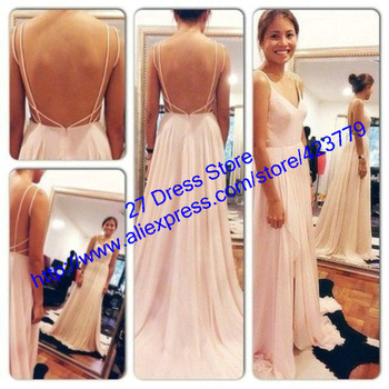 Aliexpress.com : Buy Newest Design 2014 Spaghetti Lace Beaded See Through Prom Dresses Long Sleeveless Green Evening Dresses Formal BO2187 from Reliable dress womens suppliers on 27 Dress