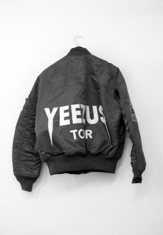 jacket bomber jacket kanye west yeezus yeezy