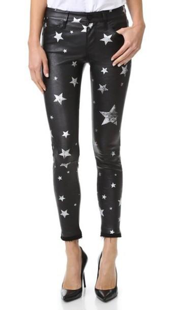 05d6bb2d3b1b Rta Prince Leather Pants - Raven Stars - Wheretoget