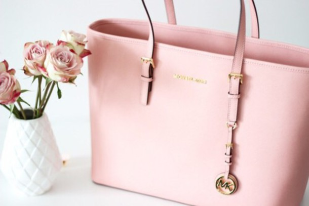 a1dda8679a49 bag pink bag michael kors baby pink all pink wishlist girly