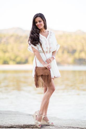 crimenes de la moda blogger dress jewels bag shoes
