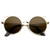 Trendy Womens Thin Metal Circle Cat Eye Fashion Sunglasses 9174