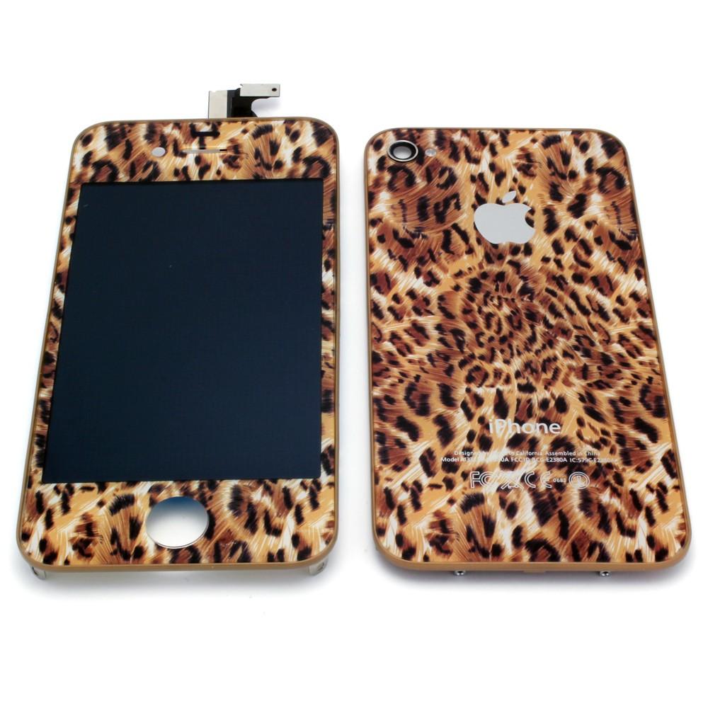 Iphone 4 leopard print conversion kit (gsm)