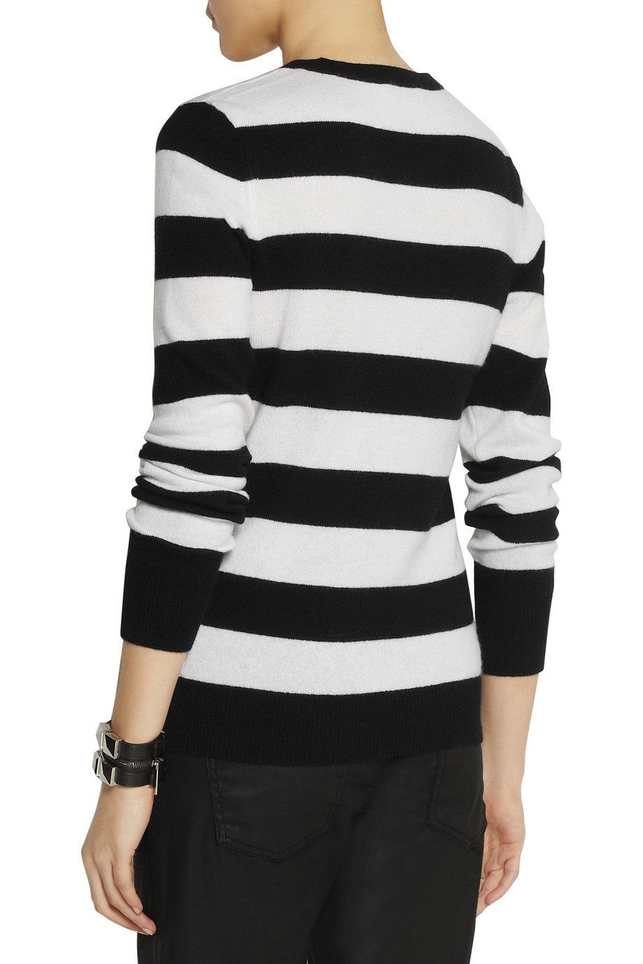 Equipment Shane striped cashmere sweater – 63% at THE OUTNET.COM