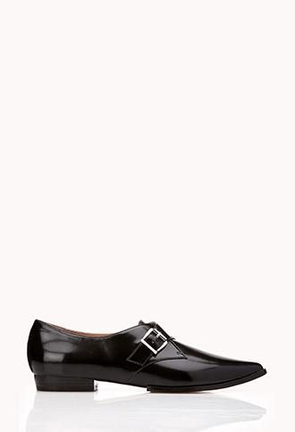 Modernist Monkstrap Shoes | FOREVER21 - 2000128502