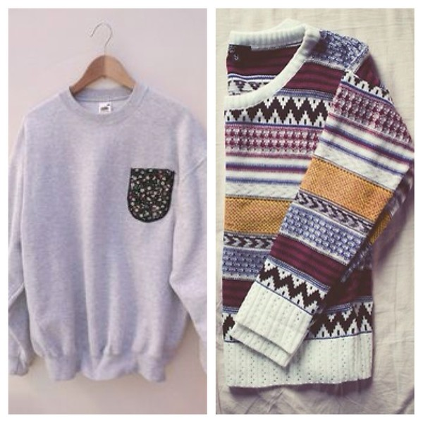 hipster sweater indie sweater indie