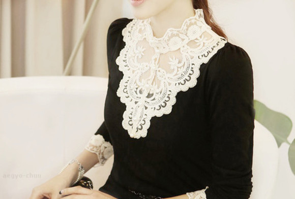chic style clothes blouse