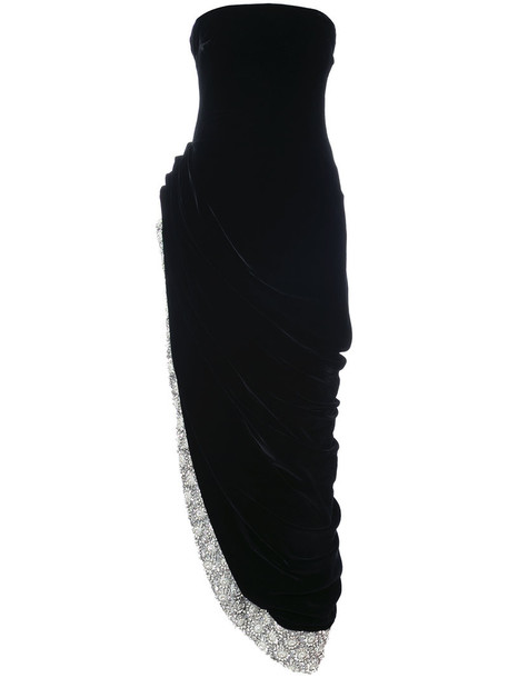 dress asymmetrical dress asymmetrical women embellished black silk