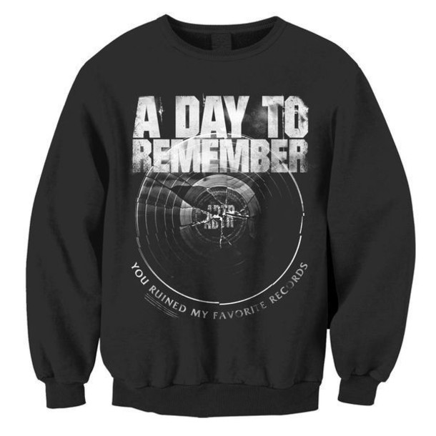 sweater a day to remember sweatshirt amazing selfhelptour broken record a day to remember