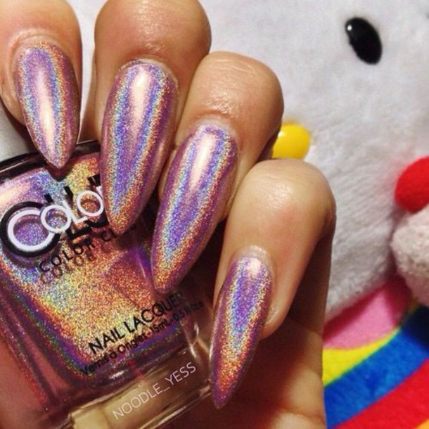 nail polish, nails, shiny, metallic nails, metallic, nail art ...
