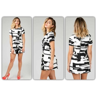 dress black white marble black dress white dress new arrival favorite get this look angl fashion instagram love love this look pumps pink pumps brushstroke brushstroke dress mini dress pleats back zipper