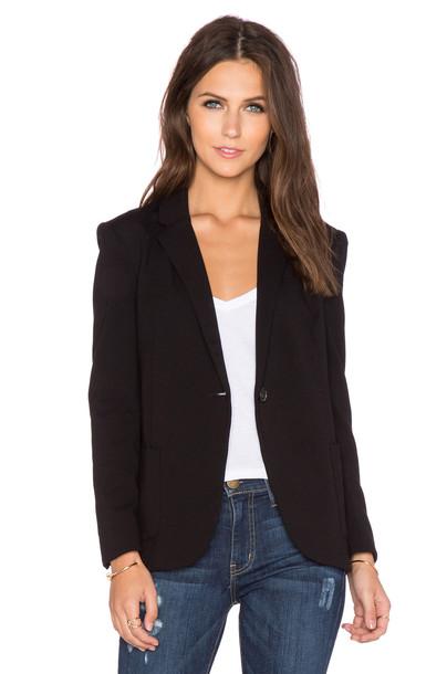 GETTINGBACKTOSQUAREONE blazer black