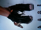 shoes,shoes black wedges