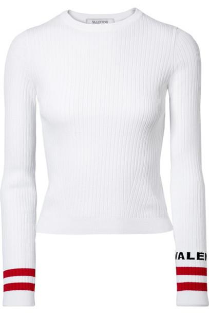 Valentino sweater white knit