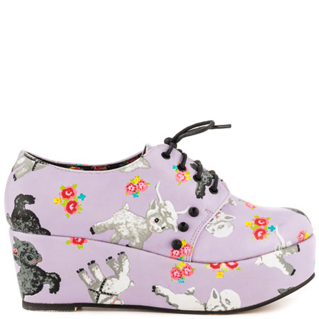Lamb Chop Flatform - Purple, Iron Fist, 69.99, FREE 2nd Day Shipping!