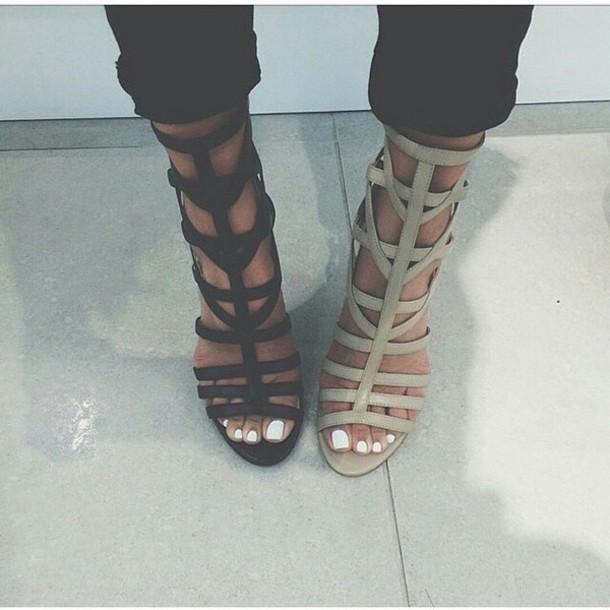 shoes heels black heels grey heels open toe high heels high heels